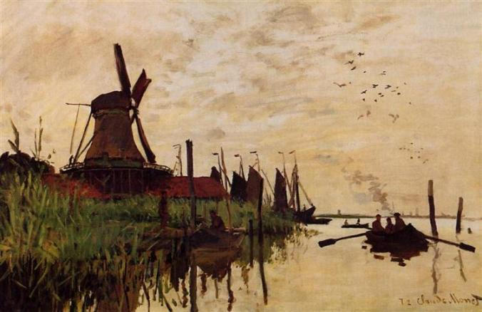 windmill-at-zaandam