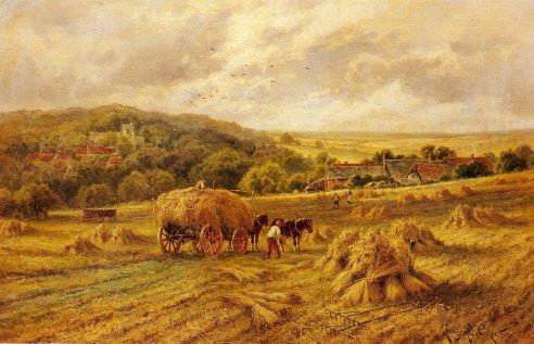 parker_henry_h_harvest_time_lambourne_berks