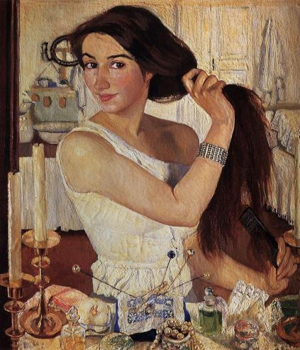 at-the-dressing-table-zinaida-serebriakova