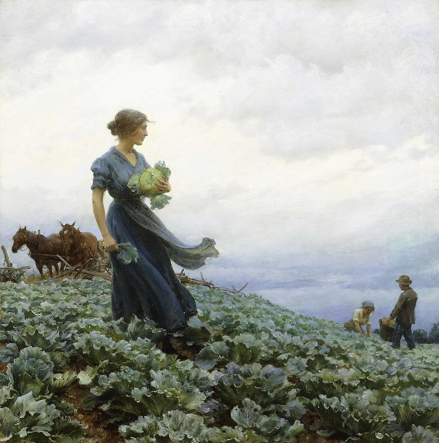 1-the-cabbage-field-charles-courtney-curran